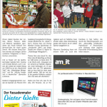 """Bericht aus """"VIPs Neunkirchen"""" Ausgabe 12/2015 http://www.vips-saarland.de"""