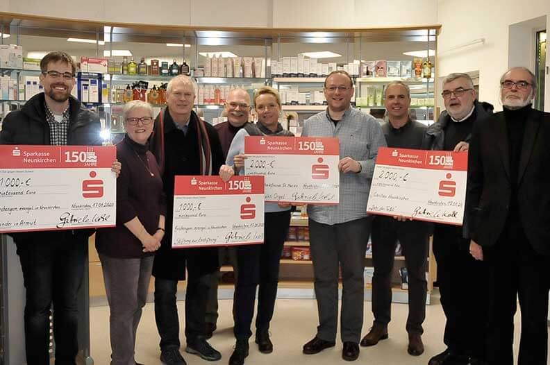 7.500 Euro an caritative Einrichtungen gespendet